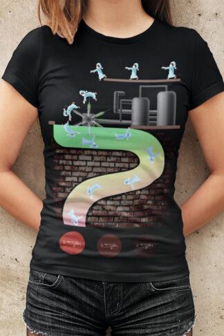 Impfwahn Damen-Premium-T-Shirt Vorne